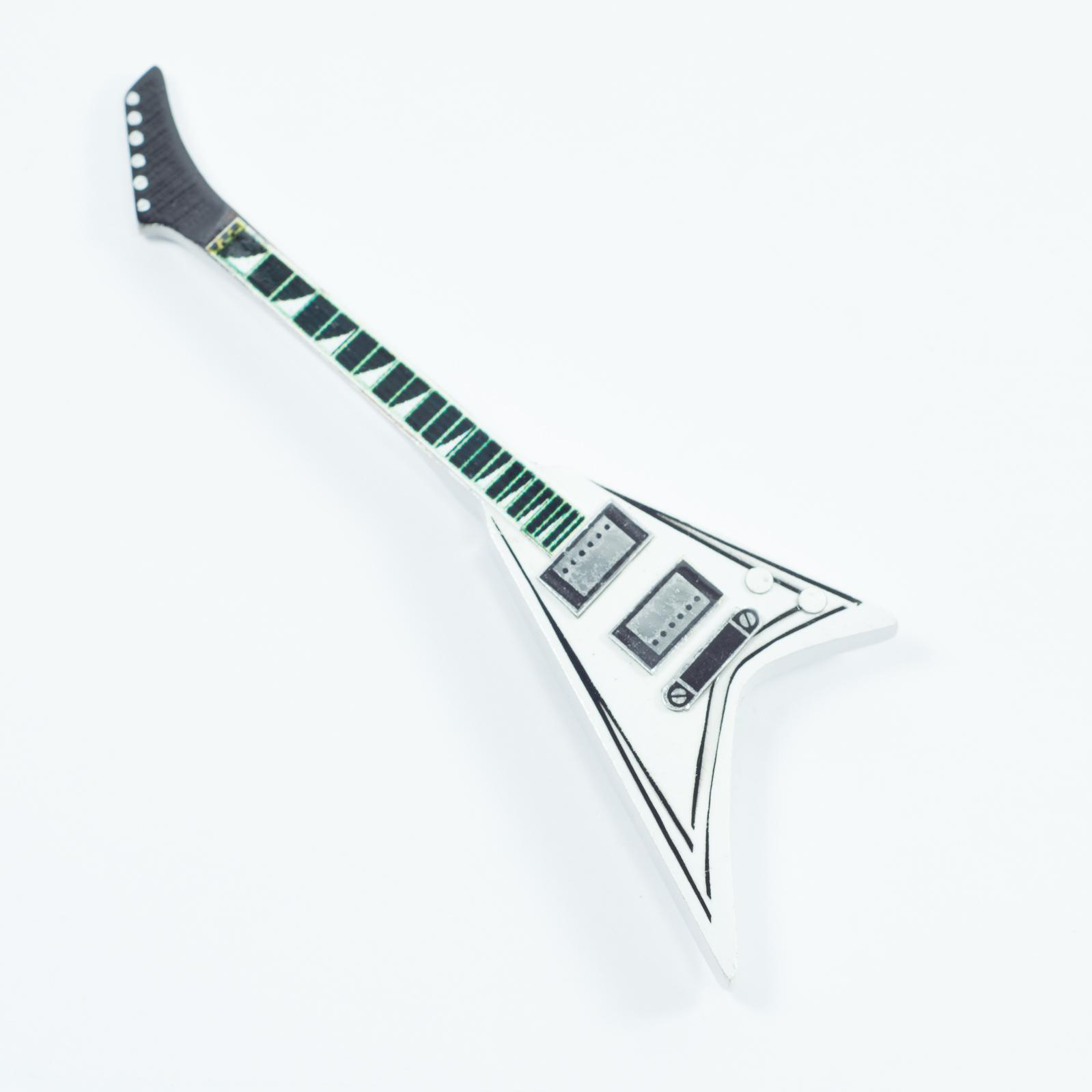 Guitar Shaped Magnet For Fridge - Quite Riots - Randy Rhoads