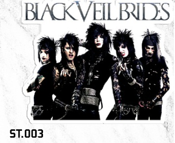 ADESIVO/STICKER - BLACK VEIL BRIDES (GROUP)