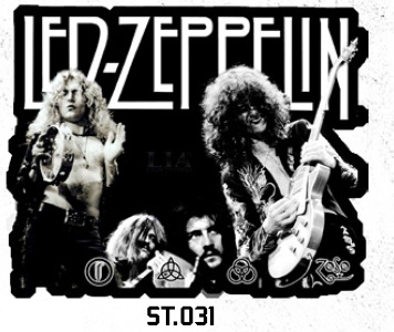 ADESIVO/STICKER - LED ZEPPELIN ( GROUP )