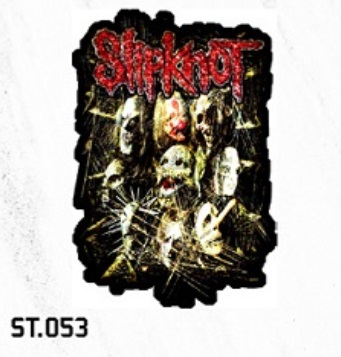 ADESIVO/STICKER - SLIPKNOT (GROUP)