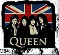 ADESIVO/STICKER - QUEEN (GROUP)