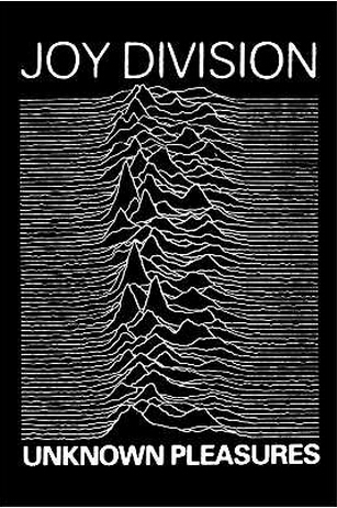 ADESIVO/STICKER - JOY DIVISION (UNKNOWN PLEASURES)