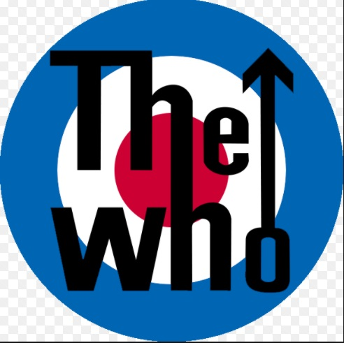 ADESIVO/STICKER - THE WHO  (LOGO)