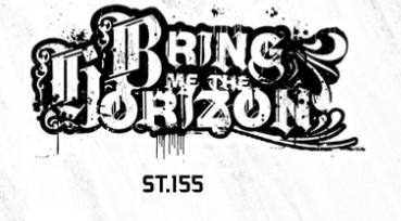 ADESIVO/STICKER - BRING ME THE HORIZON  ( LOGO )